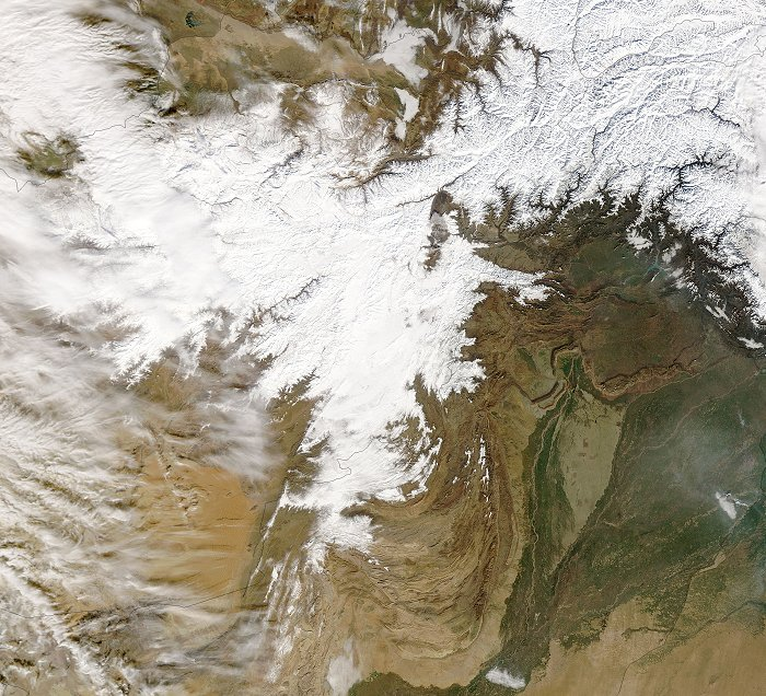 Pakistan and Afghanistan in Winter