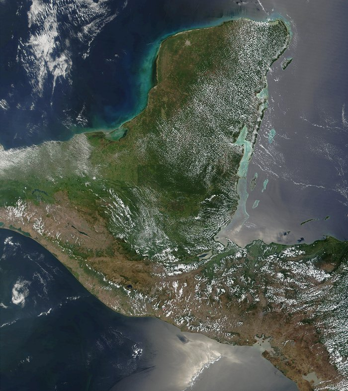 Yucatan, Guatemala and El Salvador