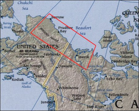 Map: Beaufort Sea