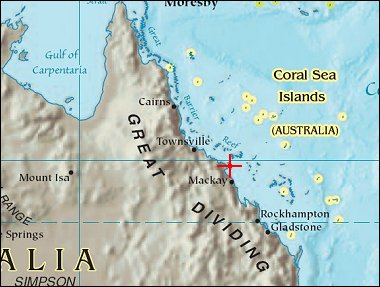 Map: Whitsunday Islands
